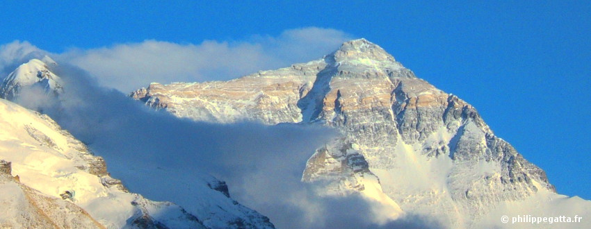 North face of Mt. Everest (� P. Gatta)