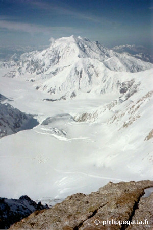 Mount Foraker seen from Denali's Camp 5 (© P. Gatta)