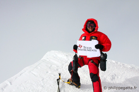 Summit of Mont Vinson (� P. Gatta)