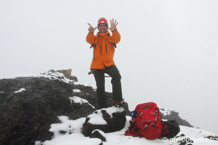 Summit of Carstensz Pyramid (Puncak Jaya) (� P. Gatta)
