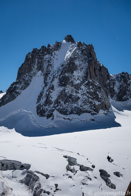 North face of Tour Ronde (© P. Gatta)