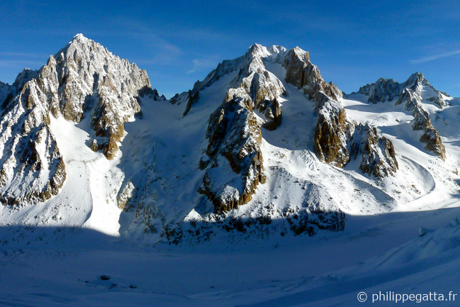 Aiguille d'Argentiere in the center (� P. Gatta)