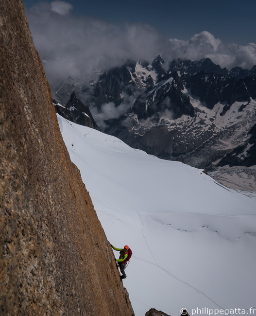 Philippe in the last pitch (© A. Gatta)