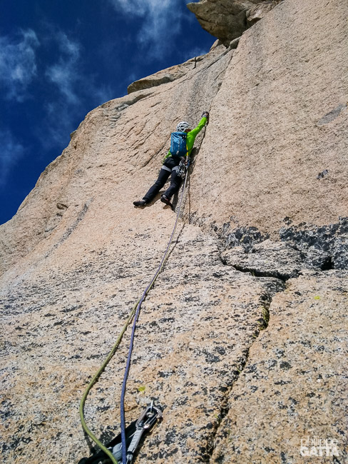 6th pitch of La Dame du Lac (© P. Gatta)