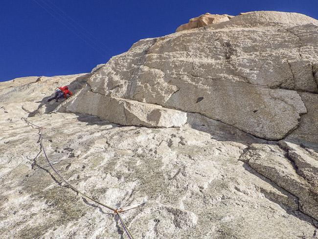 2nd pitch of La Dame du Lac (© M. Baduel)