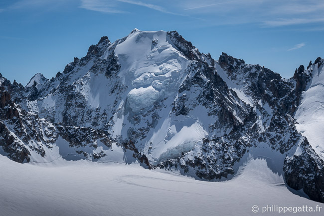 North face of Aiguille d'Argentiere (© P. Gatta)