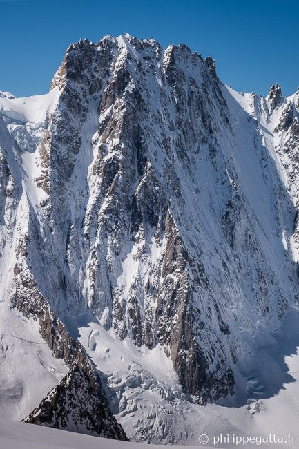 The North face of les Droites (� P. Gatta)