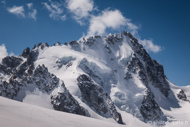 North Face of Chardonnet (© P. Gatta)