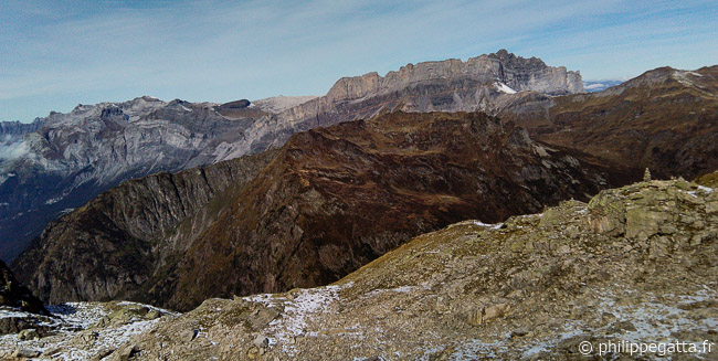 View over the Fiz from the top of Brevent (© P. Gatta)