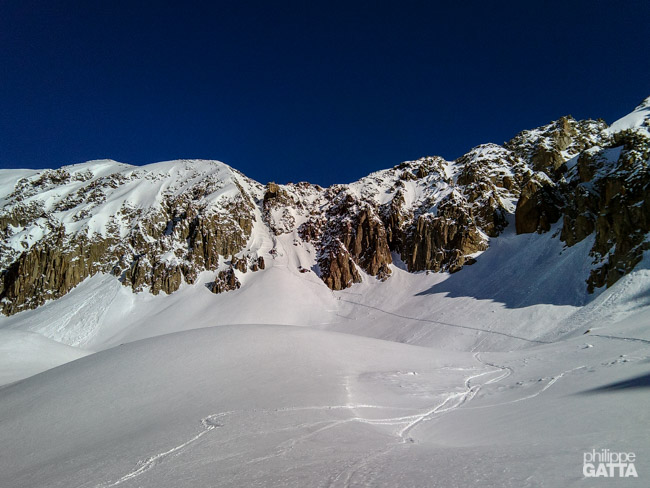 On the way to Col du Passon (© P. Gatta)