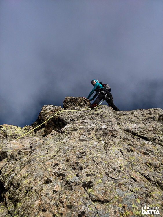 Crochues Traverse (© P. Gatta)