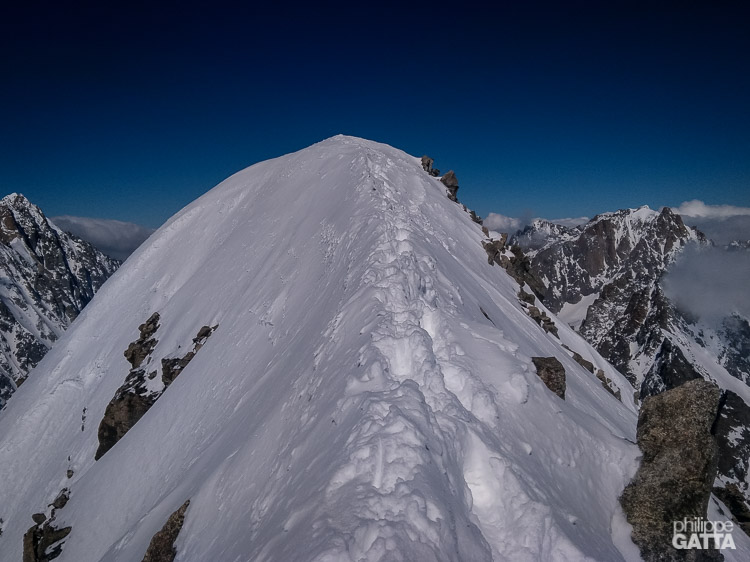 Mont Dolent summit ridge (© P. Gatta)