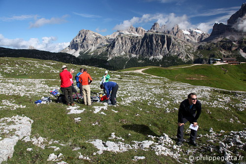 Trail running photo shoot (© Philippe. Gatta)