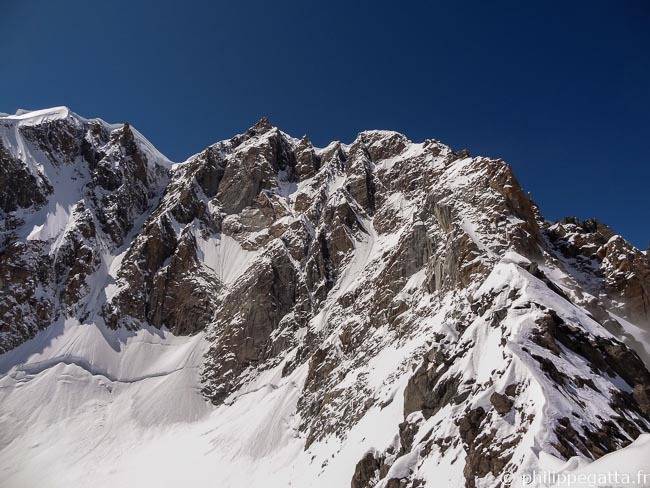 Mont Maudit and Kuffner ridge (� P. Gatta)