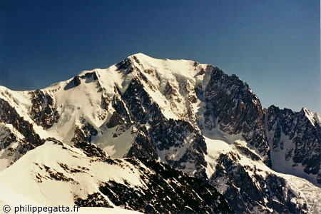 Mont Blanc seen from Tre La Tete (� P. Gatta)