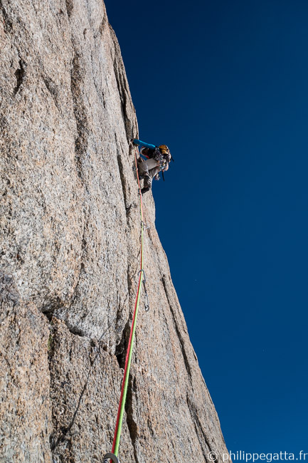 In the 6th pitch, 6b (© P. Gatta)
