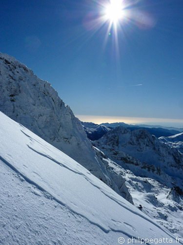 Southwest ridge of Gelas (© P. Gatta)