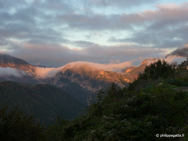 Esteron valley early in the morning (© P. Gatta)