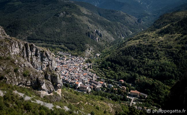 The village of La Brigue (© P. Gatta)