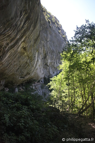 The cliff of Deverse, Gorges du Loup (© Philippe. Gatta)
