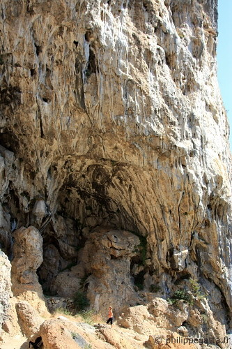 The cave of Trou du Diable (� P. Gatta)