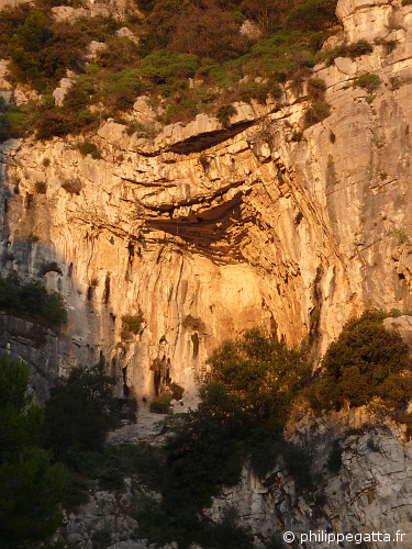 The cave of Marches du Palais / Nosferatu (© P. Gatta)