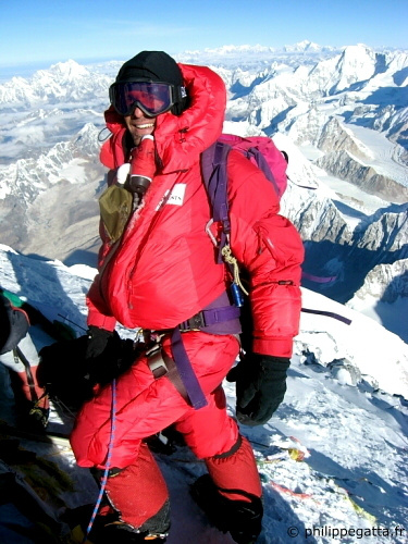 Summit of Everest (� P. Gatta)