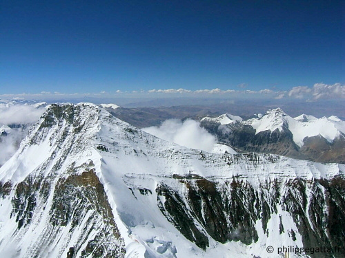 Changtse from North col of Everest (� P. Gatta)