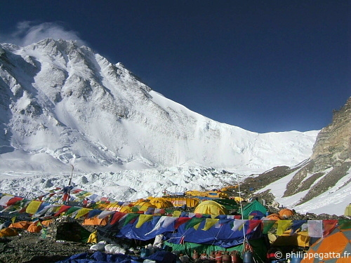 Everest Camp de base avancé (© P. Gatta)