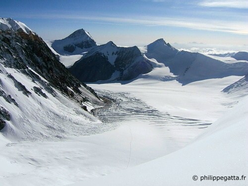View from the Everest North Col (� P. Gatta)