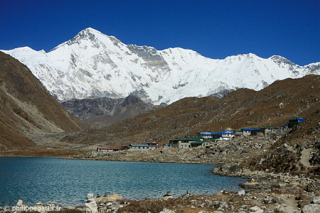 Cho Oyu seen from Gokyo, Khumbu (� P. Gatta)