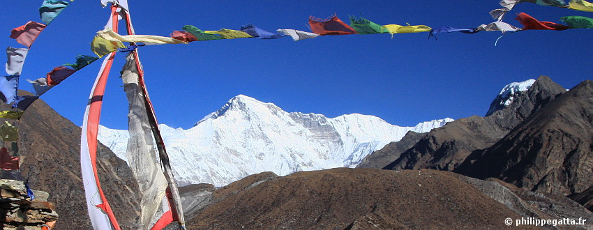 Cho Oyu seen from Gokyo (� P. Gatta)