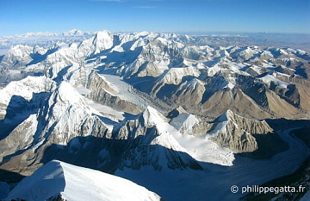 Cho Oyu seen from Mt. Everest (� P. Gatta)