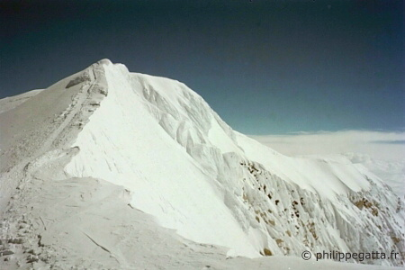McKinley's summit ridge (� P. Gatta)