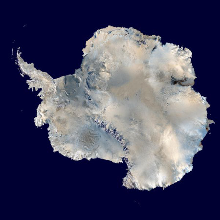 Photo of Antarctica (NASA)