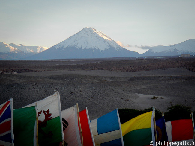 Sunrise on Licancabur (� P. Gatta)