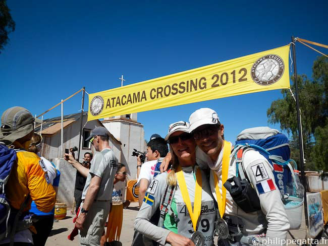 Finish line of the Atacama Crossing (© P. Gatta)