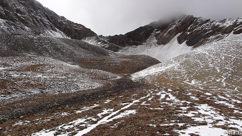 After crossing Yala La, Dolpo (© P. Gatta)