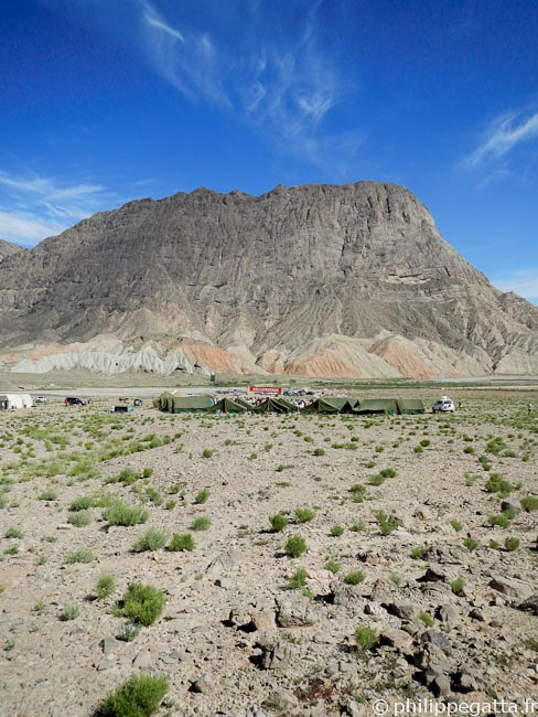 Camp 1 of the Gobi March (� P. Gatta)