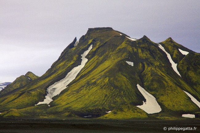Between Alftavatn and Thorsmork (© P. Gatta)