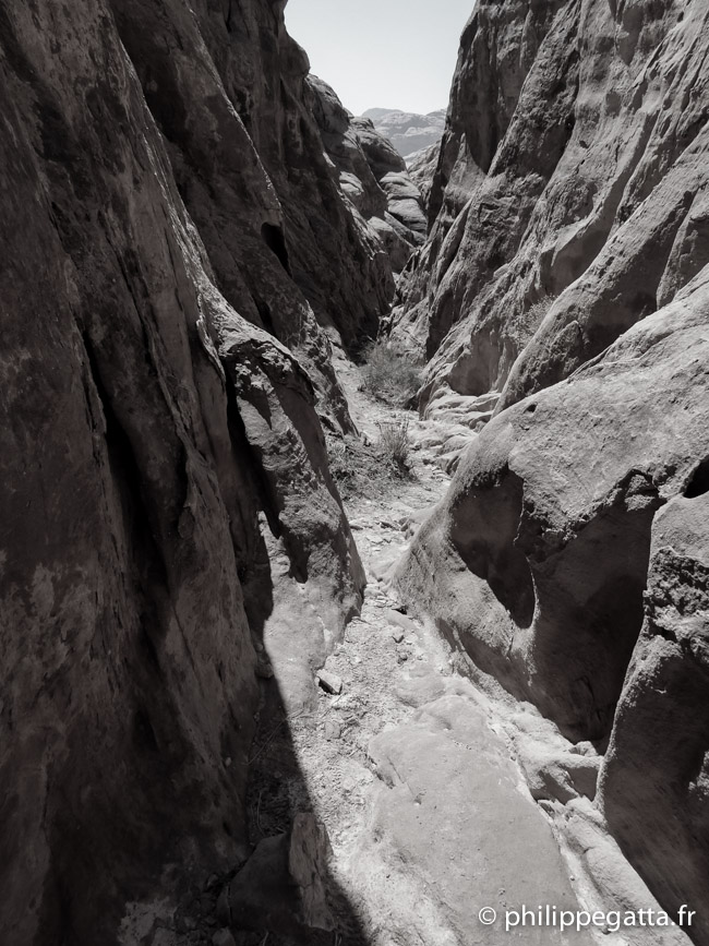 Narrow canyons near the end of the stage 2 (© P. Gatta)