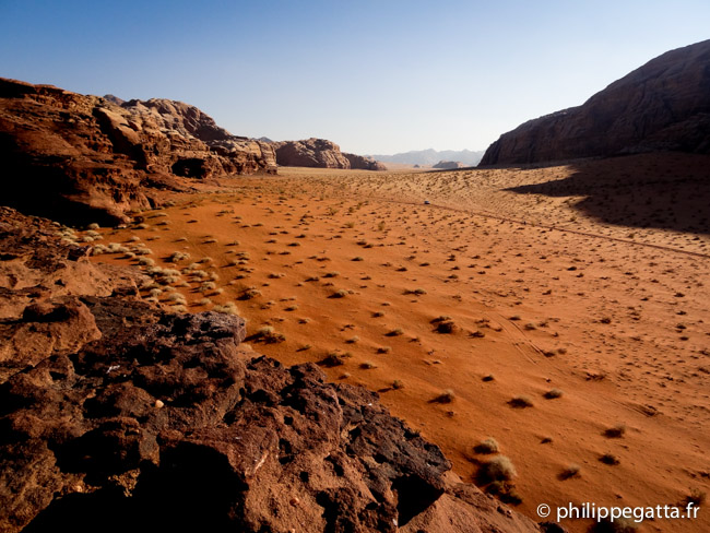 Stage 2 in the Wadi Rum (© P. Gatta)