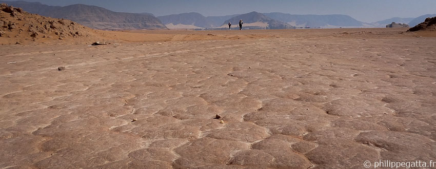Jordan 2014: 250km running race from Wadi Rum to Petra (© P. Gatta)