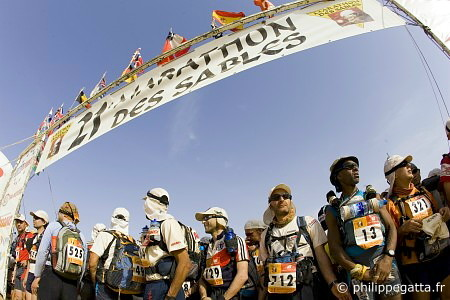 Start of the 21st MDS. Karim Mosta #13 (� P. Gatta)