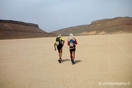 2nd stage of Marathon des Sables (� P. Gatta)