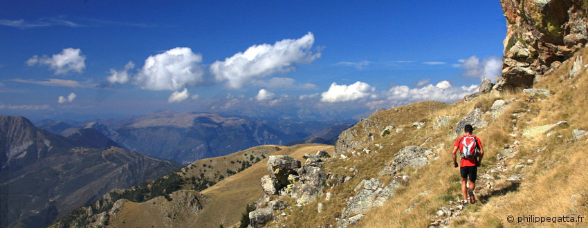 Trail running in the Park of Mercantour (� A. Gatta)