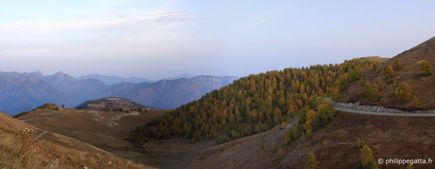Autumn colors from the Authion (� P. Gatta)