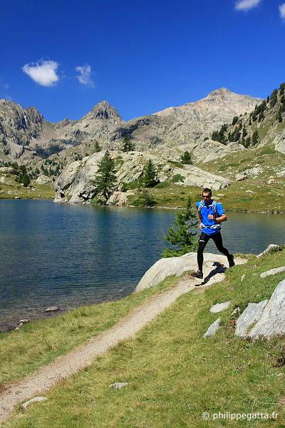 Running around the Lake Trecolpas (© P. Gatta)
