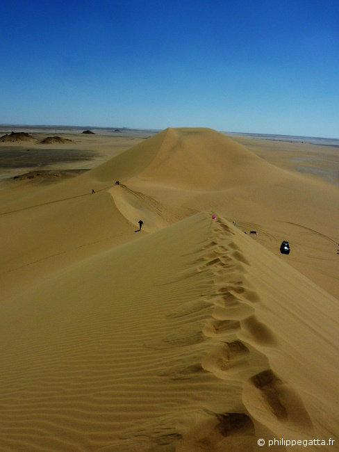 Sahara Race: big dunes in the stage 5 (© Philippe Gatta)