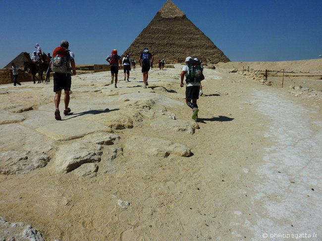 Last stage around the Giza Pyramids (� P. Gatta)